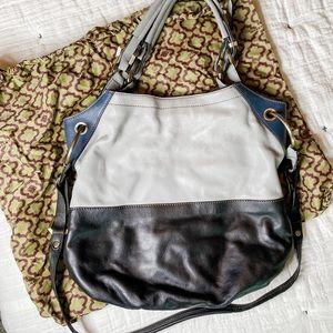 orYANY Sydney Soft Pebbled Leather Convertible Bag